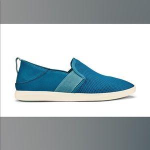 Olukai Hale'iwa 6.5 Slip On Sneakers Teal Mineral